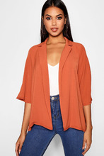 Boohoo | Loose Fit Collared Jacket | Clouty