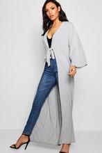 Boohoo | Tie Front Kimono | Clouty