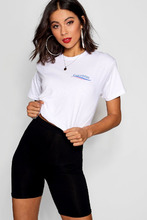Boohoo | Everything Will Be Fine Cropped Tee | Clouty