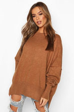 Boohoo | Oversized Balloon Sleeve Knitted Jumper | Clouty