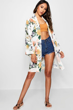 Boohoo | Floral Print Kimono | Clouty