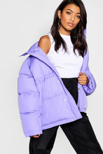 Boohoo | Funnel Neck Puffer Jacket | Clouty