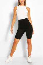 Boohoo | Solid Black Cycling Shorts | Clouty