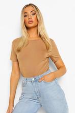 Boohoo | Basic T-Shirt Bodysuit | Clouty