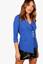 Boohoo | Button Detail Pocket Blazer | Clouty