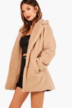 Boohoo | Faux Fur Teddy Coat | Clouty