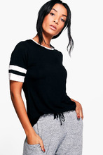 Boohoo | Short Sleeve Stripe Tee | Clouty