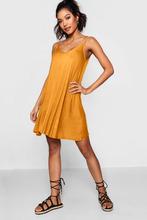 Boohoo | Basic V Neck Swing Dress | Clouty