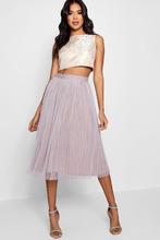 Boohoo | Boutique Jacquard Top Midi Skirt Co-Ord Set | Clouty