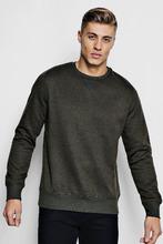 Boohoo | Basic Crew Neck Sweater | Clouty