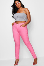 Boohoo | Plus  Pink Skinny Jean | Clouty