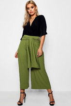 Boohoo | Plus Tie Waist Culottes | Clouty
