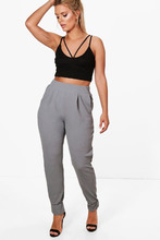Boohoo | Plus Formal Pleated Cuff Trouser | Clouty