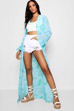 Boohoo | Tall Hollie Tie Dye Maxi Kimono | Clouty