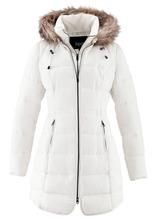 Bonprix | Стеганая куртка с капюшоном (цвет белой шерсти) | Clouty