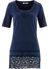 Bonprix | Удлиненная футболка (темно-синий) | Clouty