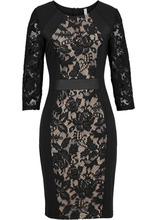 Bonprix   Платье с рукавом 3/4 (черный)   Clouty
