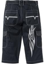 Bonprix | Брюки Regular Fit 3/4 (черный) | Clouty