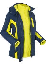 Bonprix | Функциональная куртка 3 в 1 (темно-синий/зеленый лайм) | Clouty