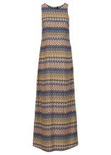 Bonprix | Макси-платье (синий/зеленый с узором) | Clouty