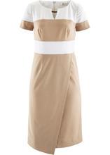 Bonprix | Платье-футляр (бежевый/кремовый) | Clouty