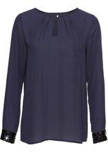 Bonprix | Блузка (темно-синий) | Clouty