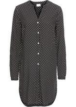Bonprix   Длинная блузка (цвет белой шерсти/темно-синий в полоску)   Clouty