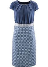 Bonprix | Платье (индиго/цвет белой шерсти) | Clouty