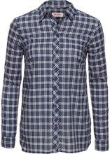 Bonprix | Блузка с принтом и длинным рукавом (в клетку) | Clouty