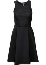 Bonprix | Платье из материала под неопрен (черный) | Clouty