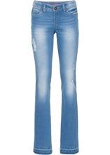 Bonprix | Джинсы со стройнящим эффектом (голубой) | Clouty