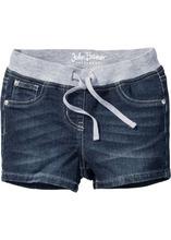 Bonprix | Очень мягкие шорты с эластичным поясом (темно-синий) | Clouty