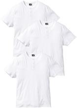 Bonprix   Футболка Regular Fit (3 шт.) (белый + белый + белый)   Clouty