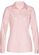 Bonprix | Блузка с кружевной отделкой (нежно-розовый) | Clouty