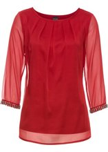 Bonprix | Блузка (темно-красный) | Clouty