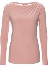 Bonprix | Футболка с длинным рукавом (винтажно-розовый) | Clouty