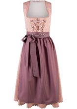 Bonprix | Дирндль с фартуком (розовый с узором) | Clouty