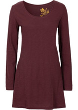 Bonprix | Удлиненная футболка (кленово-красный) | Clouty
