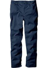 Bonprix | Брюки стретч прямого покроя, низкий + высокий рост (U + S) (темно-синий) | Clouty