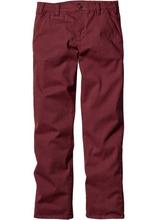 Bonprix | Классические брюки-стретч, низкий + высокий рост (U + S) (бордовый) | Clouty