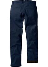 Bonprix | Термобрюки стретч стандартного прямого покроя, cредний рост (N) (темно-синий) | Clouty