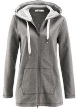 Bonprix   Удлиненная трикотажная куртка (серый меланж)   Clouty