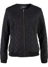 Bonprix   Стеганая куртка (черный)   Clouty