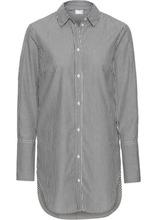 Bonprix | Удлиненная блузка (белый/черный в полоску) | Clouty