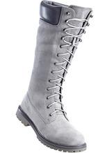 Bonprix | Ботинки на шнурках (серый) | Clouty