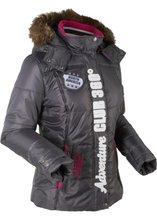Bonprix | Функциональная стеганая куртка (шиферно-серый) | Clouty
