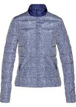Bonprix   Стеганая куртка (ночная синь/кремовый с рисунком)   Clouty