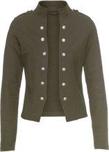 Bonprix | Пиджак с декоративными пуговицами (темно-оливковый) | Clouty