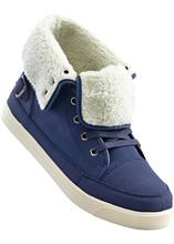 Bonprix | Ботинки на шнуровке (индиго) | Clouty