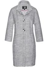 Bonprix | Пальто (серый/белый меланж) | Clouty